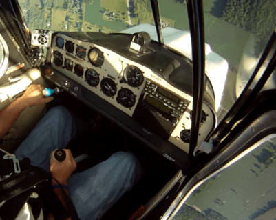 Learn how to react in a wake turbulence, base-to-final skidded turn stall or similar emergency.