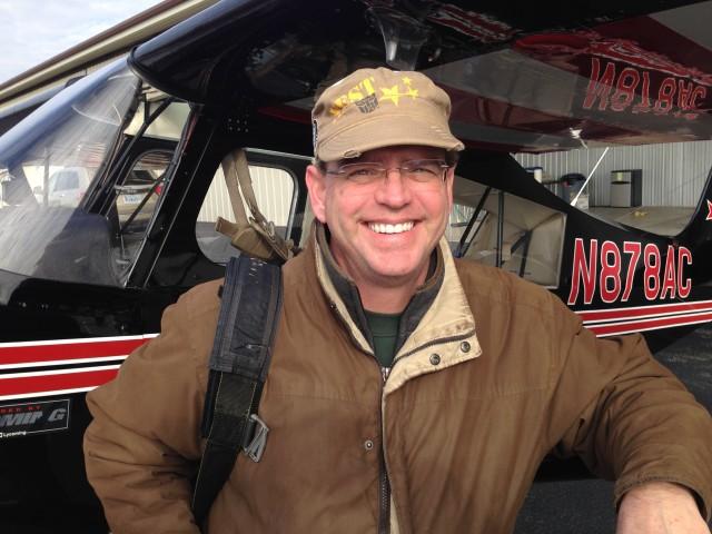 Dave Kottra gets tailwheel endorsement