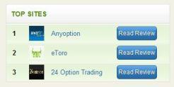 Top Brokers Widget