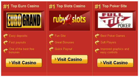 Custom Page Template for Featuring Casinos