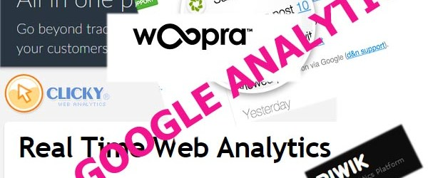 Three Alternatives to Google Analytics