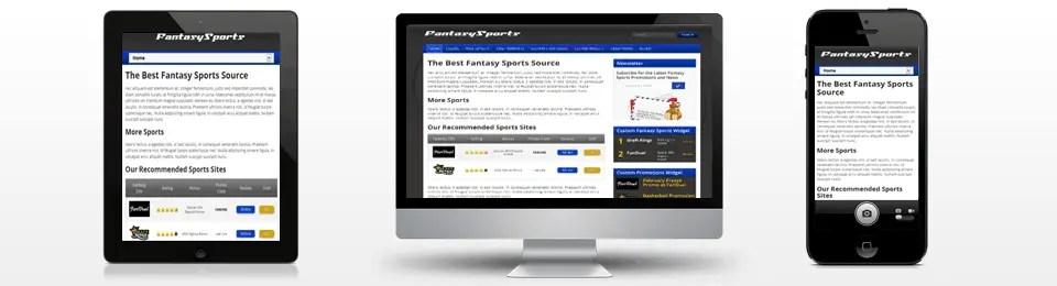 fantasy sports theme
