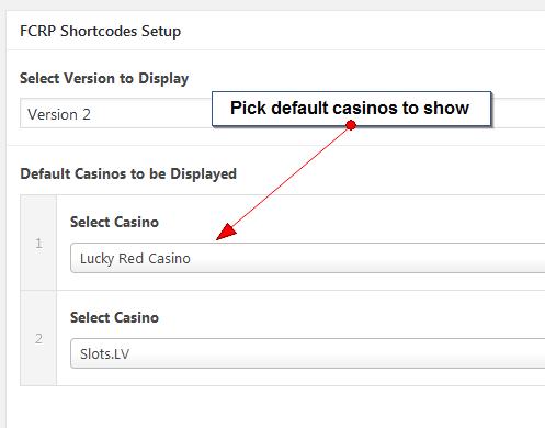 default casino to target
