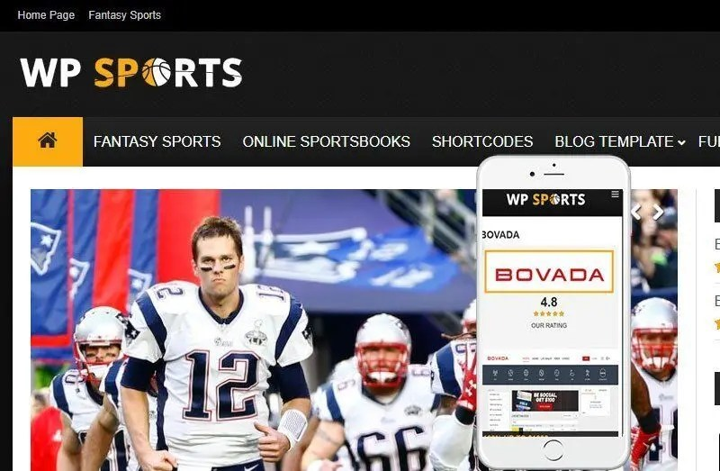 WordPress Sports News Theme