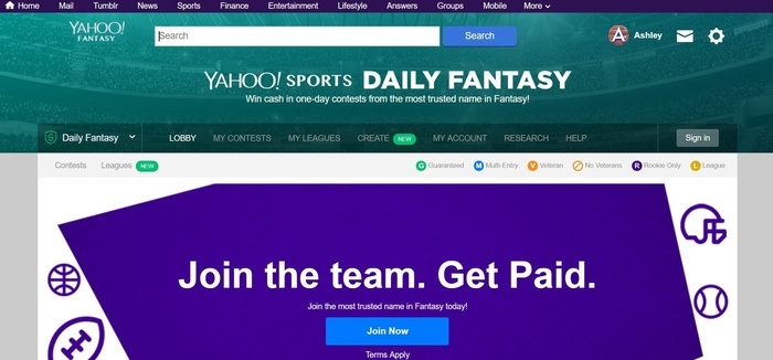 Yahoo-Sports-Daily-Fantasy-Affiliate-Program