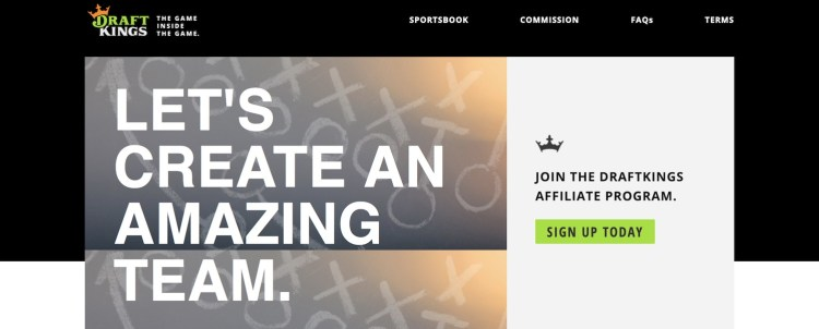 DraftKings-Fantasy Sports Affiliates-Program