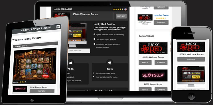 Casino Affiliates WordPress Plugin