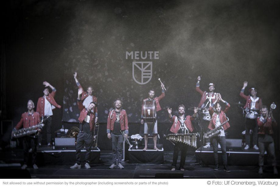 Meute– Fotogalerie Konzert Hafensommer Würzburg 2018