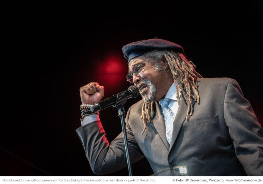 Juan de Marcos' Afro-Cuban All Stars– Fotogalerie Konzert Hafensommer Würzburg 2019