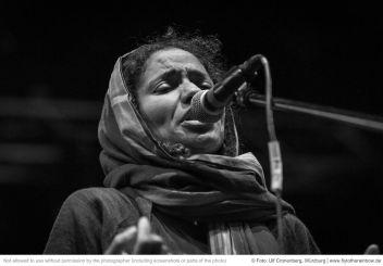 Nneka – Hafensommer Würzburg, 27.07.2019  © Foto: Ulf Cronenberg, Würzburg