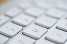 Apple-Alu-Keyboard // © Ulf Cronenberg, Würzburg