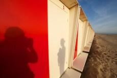 Schattenspiel an den Mietkabinen || Foto: © Ulf Cronenberg, Würzburg