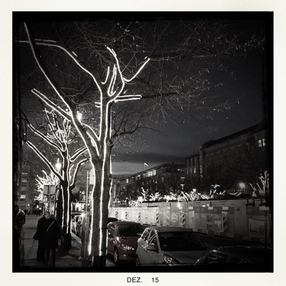 Berlin mit Hipstamatic in Black & White