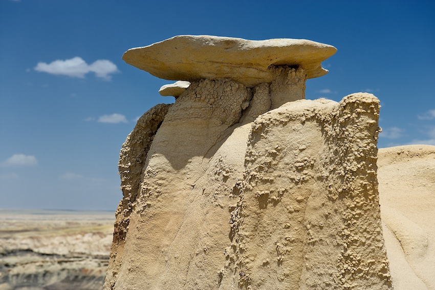 USA-Urlaub (2) – Bisti Badlands, New Mexico