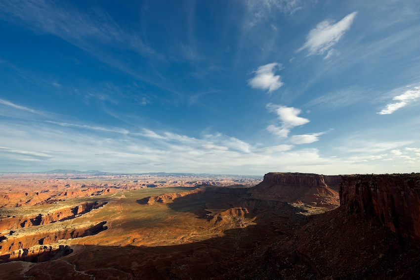 USA-Urlaub (3) – Canyonlands National Park, Utah: Island in the Sky
