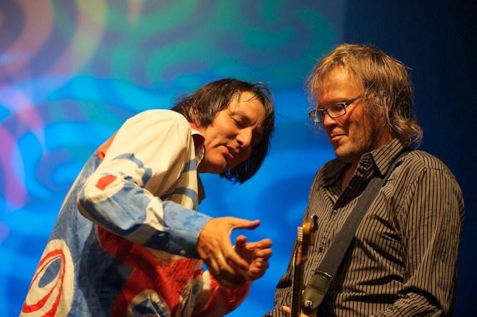 Peter Hein im Duett mit Uwe Jahnke || Foto: © Ulf Cronenberg, Würzburg