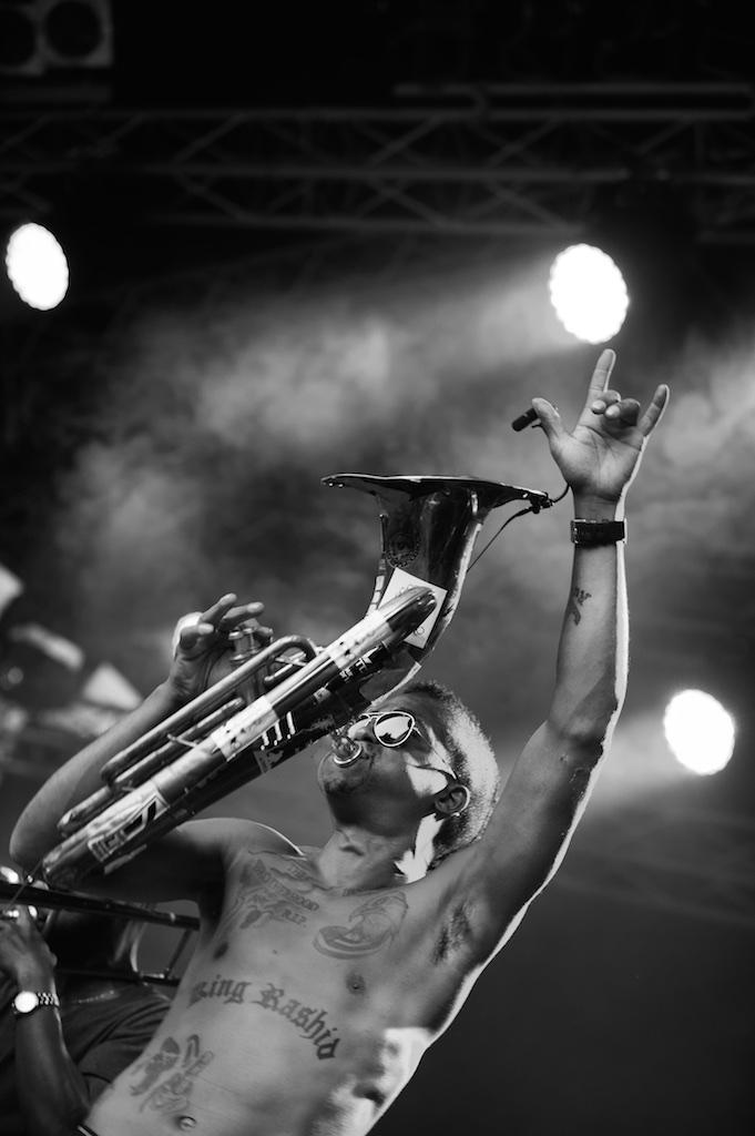 Hypnotic Brass Ensemble– Würzburger Hafensommer 2014