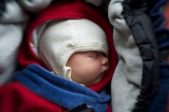 Baby im Maxicosi // © Ulf Cronenberg, Würzburg
