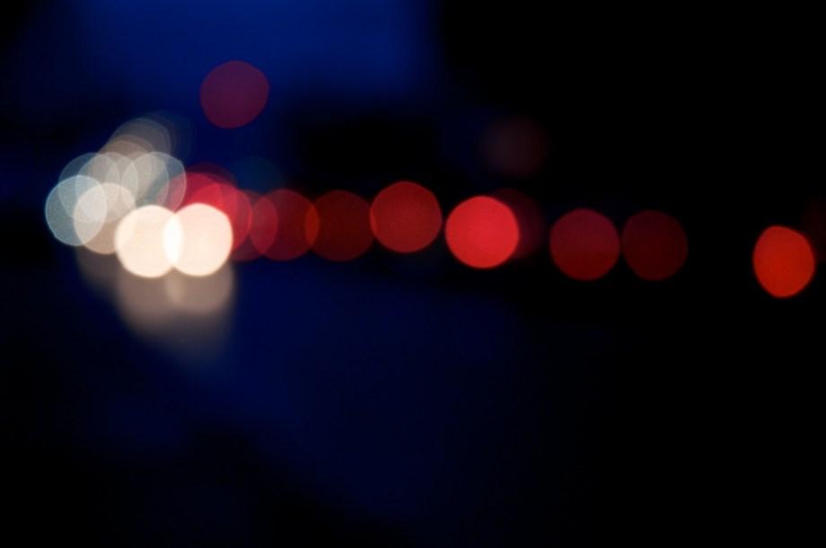 Lichtspiele nachts…