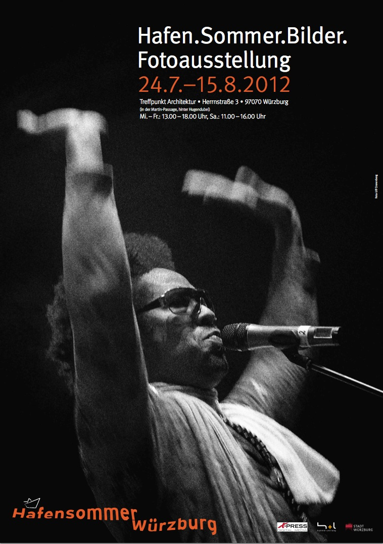 Plakat Fotoausstellung Hafensommer 2012