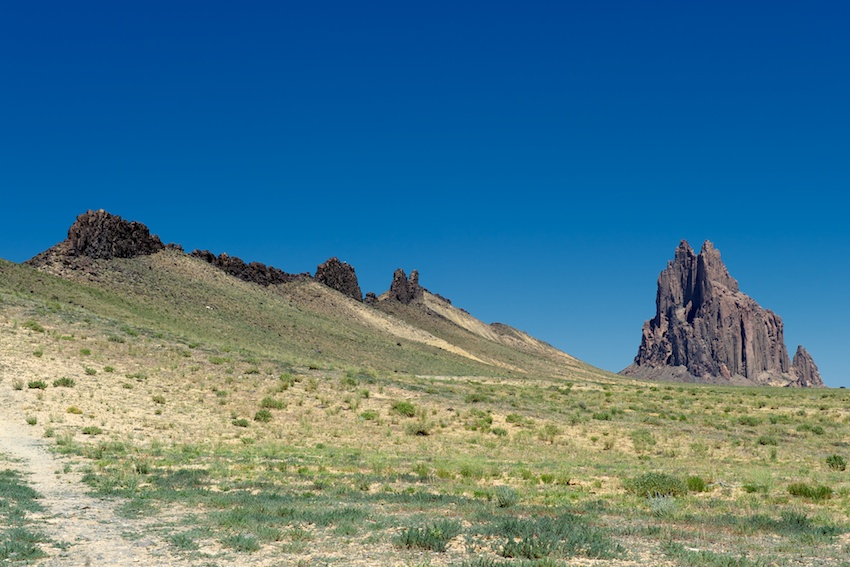 USA-Urlaub (4) – Shiprock, New Mexico