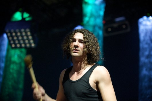 Schlagzeuger Andreas Nowak || Foto: © Ulf Cronenberg, Würzburg