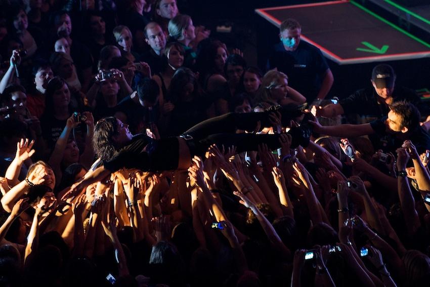 Stefanie beim Publikumsbad (2) || Foto: © Ulf Cronenberg, Würzburg