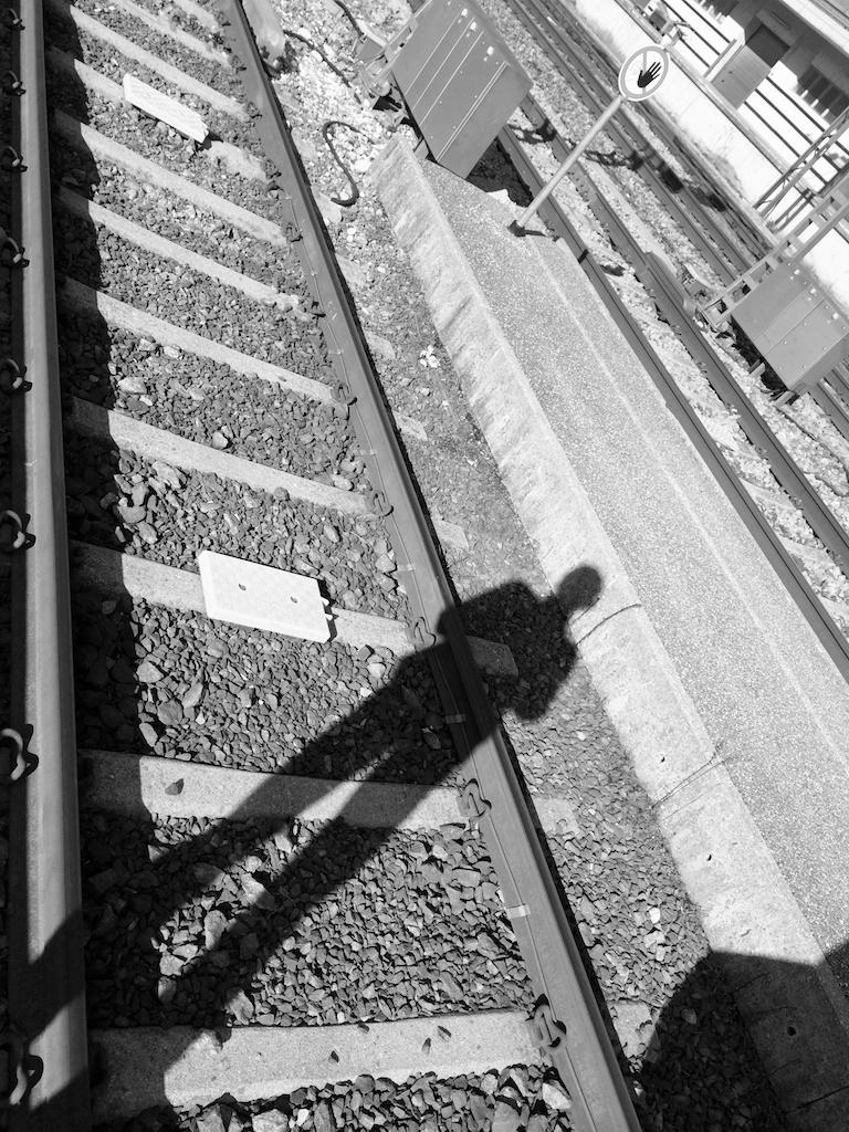 Warten am Bahnhof No. 6 || Foto: © Ulf Cronenberg