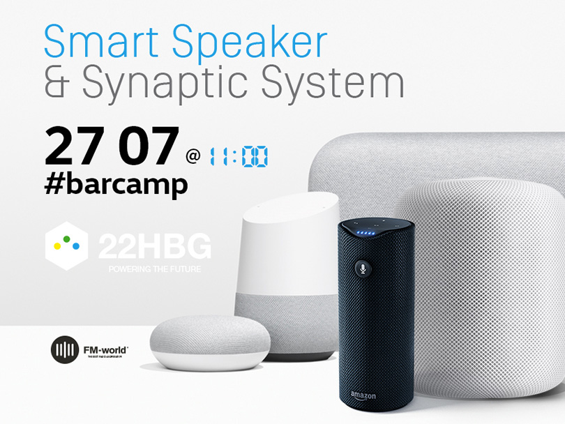 smart speaker #barcamp 22HBG