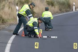 el atestado en accidente de tráfico en Tenerife