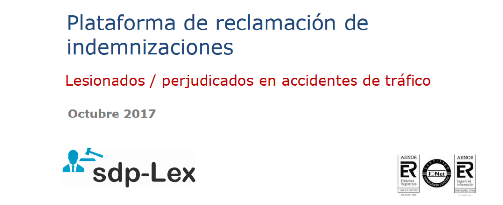 plataforma sdp-lex para abogados y aseguradoras