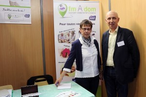 fmAdom Assistance Administrative à Domicile Salon des Seniors Caen oct 2018