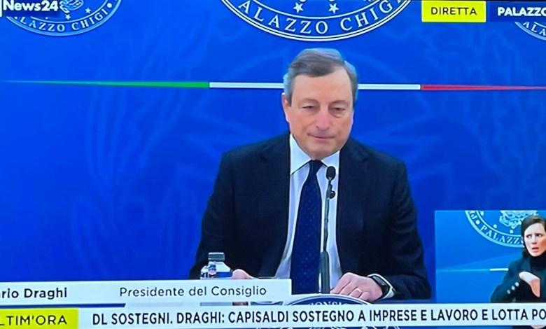 DL Sostegni_ Mario Draghi