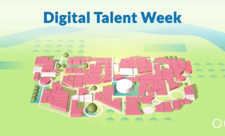 frame tratto dal video presentazione della digital talent week di CVING