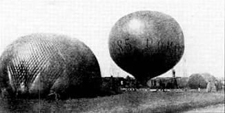 Aerostato Falco, San Pietroburgo 1885