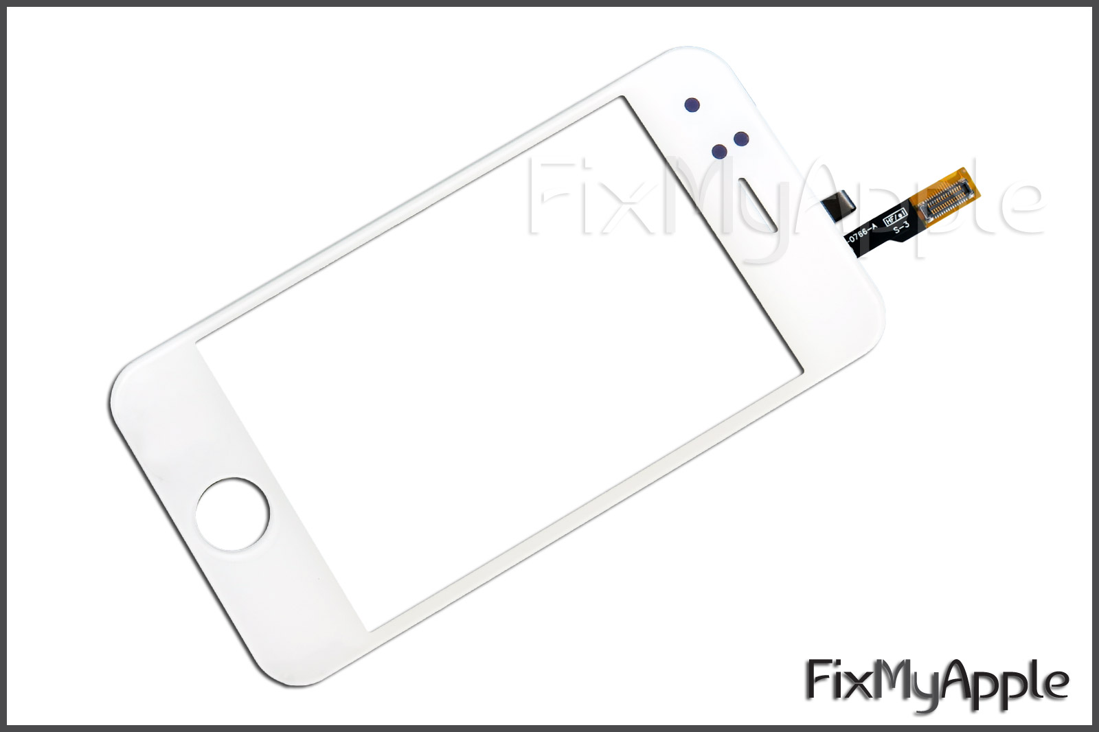 Iphone 3gs White Glass Touch Screen Digitizer Replacement