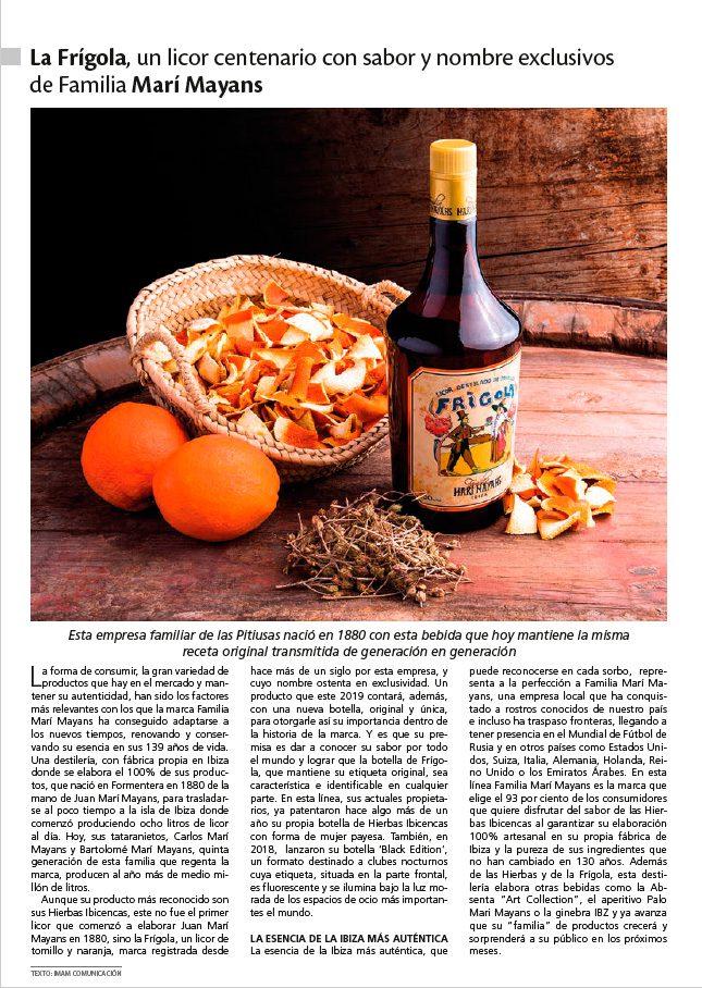 03/2019 - Revista Top Crono - Familia Marí Mayans
