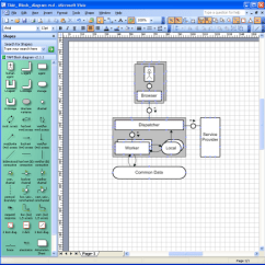 Class Diagram Visio Template Car Radio Wiring Fmc Tam Stencils Shapes For The Fundamental Modeling Block Example