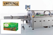 Kliklok supplies Twinings with tea cartoning equipment