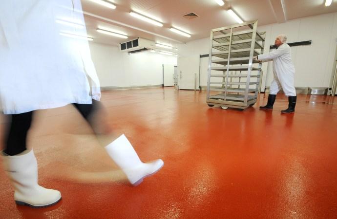 Food-safe flooring solutions