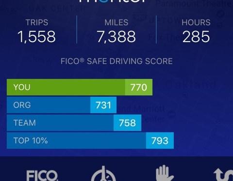 Gear shift in new fleet safety system