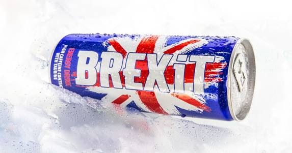 """Brexit drink: """"too offensive"""""""
