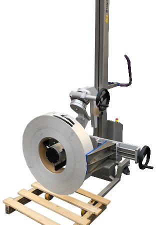 Packline release new clamping vertical spindle attachment