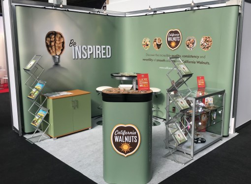 California Walnuts encouraged visitors to 'Be Inspired' at the Speciality & Fine Food Fair