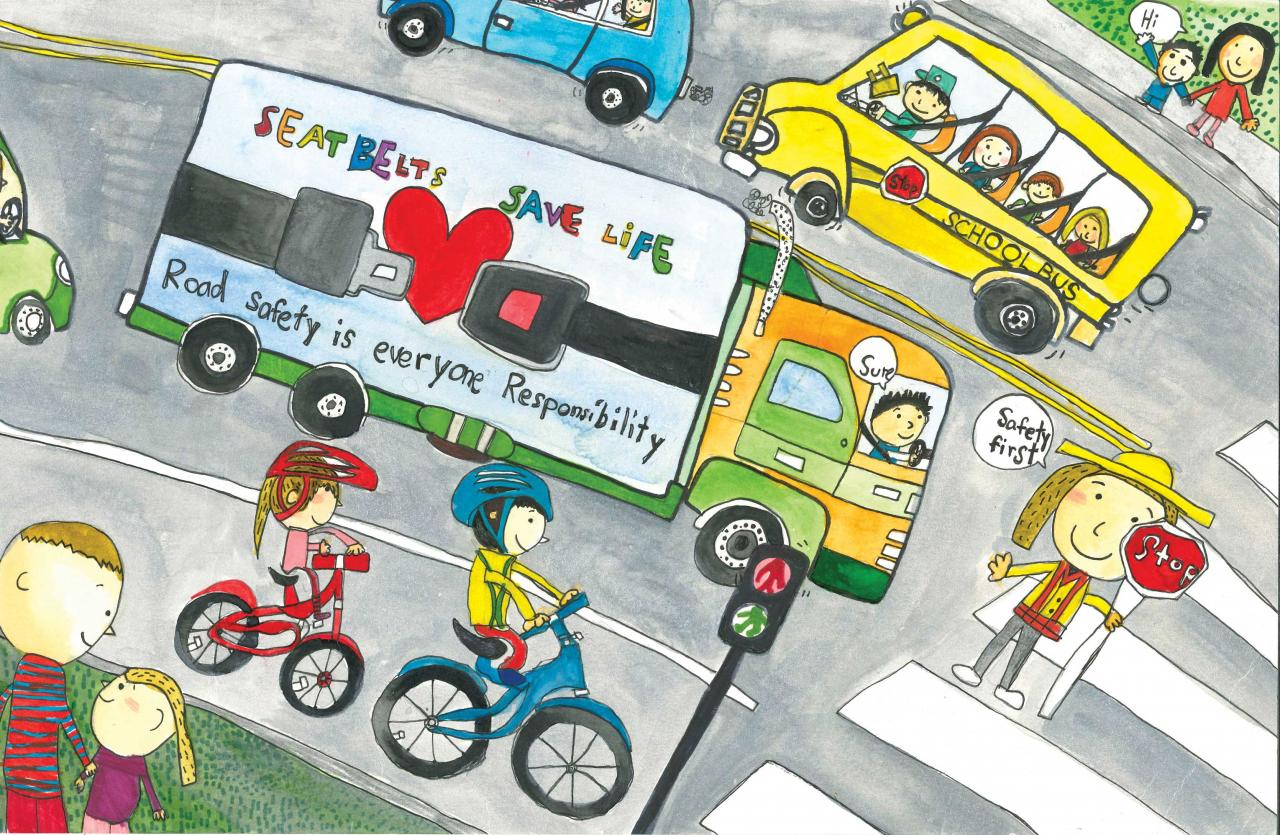 Road Safety Art Contest Past Grand Prize Winners