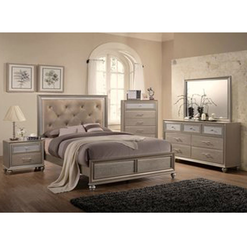 5 PIECE QUEEN SIZE BEDROOM SET  Furniture  Mattress