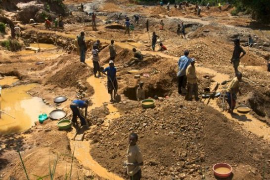 Mantashe raises concern over surge in illegal mining in South Africa