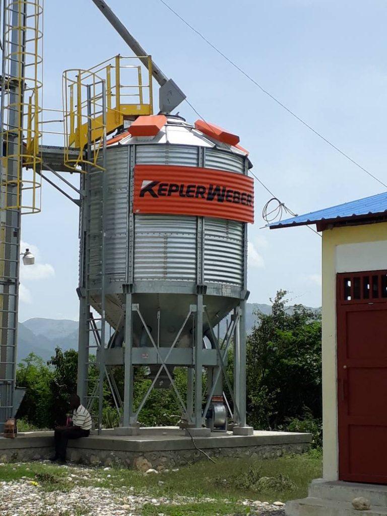 hight resolution of grain drier st rapheal haiti