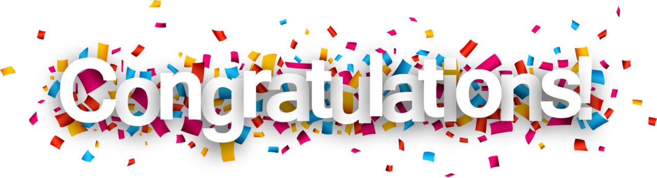 Congratulations on a successful conference!