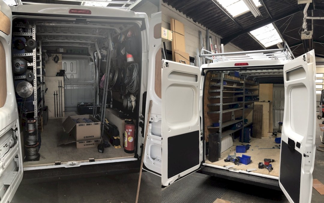 Nouveau camion entièrement équipé